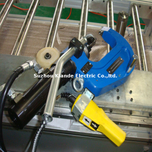 China Self-Piercing Riveting Machine for Busduct Aluminum Profile Assembly