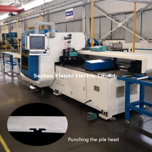 Busbar Conductor Punch Machine for Bus Bar Punching And Cutting