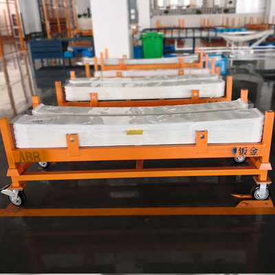 China Running Trolley for Raw Material Transport Copper Bar