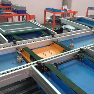 Flow Conveyor Type Drawer of LV Switchgear Cabinet Production Line